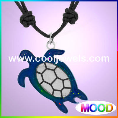 Mood Turtle Necklaces