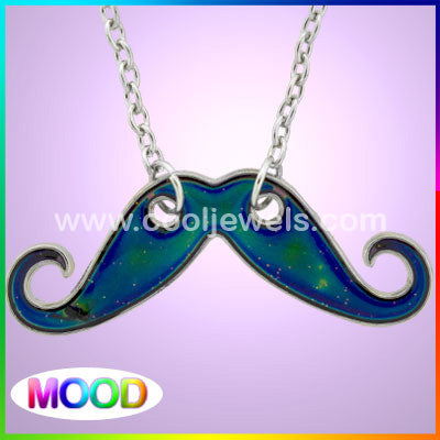 MOOD Mustache Necklace