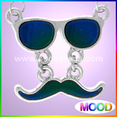 Mood Sunglasses Mustache Necklace