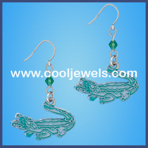 Alligator Beaded Earrings