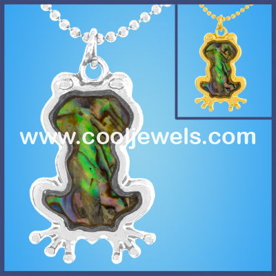 MOP Frog Necklaces
