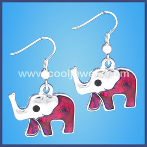 Elephant Swirl  Earrings