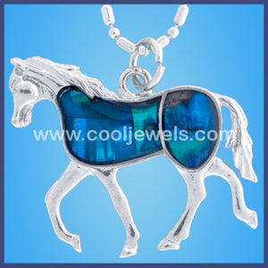 Horse Swirl  Necklace