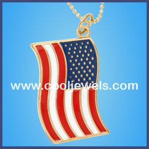 American Flag Necklaces