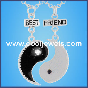 Best Friends Ying Yang Necklaces