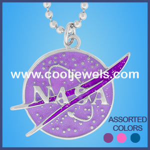 Glitter NASA Necklaces