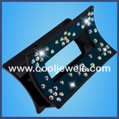 Rhinestone Cloth Jaw Clips