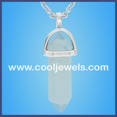 Moon Stone Crystal Necklace