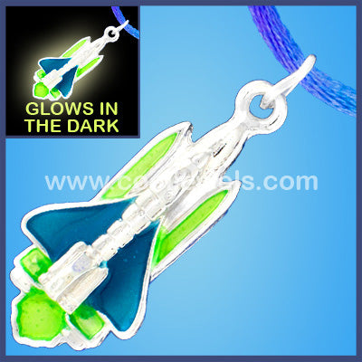 Shuttle Booster Glow Necklace