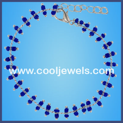 Color Beads Anklets