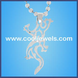 Stainless Steel Lizard Necklaces