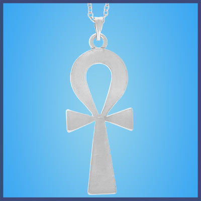 Silver Egyptian Ankh Necklaces