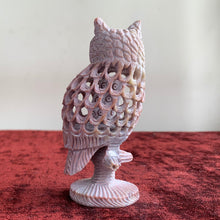 Load image into Gallery viewer, Owl/Fengshui Soapstone Handicraft Statue - Home Decor Showpiece | Undercut with fine Carving Work