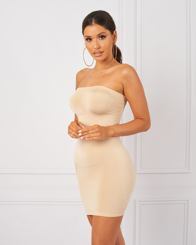 Strapless Shapewear Dress / Nude