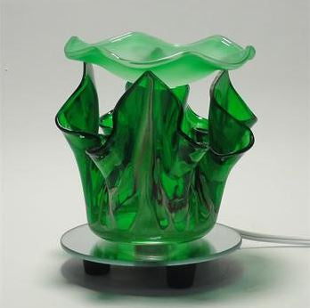 Flower Type Glass Oil Warmer