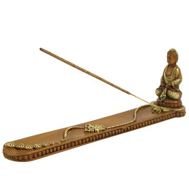 Buddha Boat Incense Burner