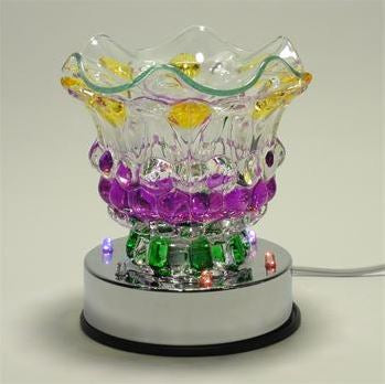 Multi-Colored Glass Oil Warmer