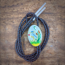 Load image into Gallery viewer, Blue Heron Bolo Tie