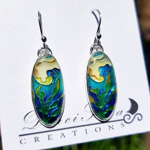 Wave Kelp Earrings