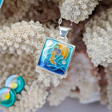 Load image into Gallery viewer, Square Jellyfish Pendant