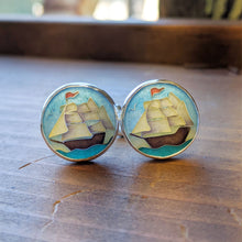 Load image into Gallery viewer, Ship Cufflinks