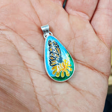 Load image into Gallery viewer, Teardrop Monarch Pendant