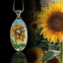 Load image into Gallery viewer, Sunflower Pendant