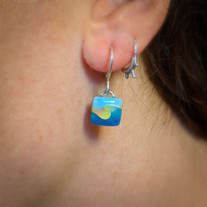 Square Wave Earrings