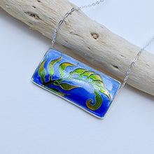 Load image into Gallery viewer, Rectangle Kelp Pendant
