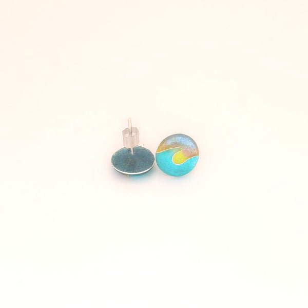 """Dawn Patrol"" Wave Studs"