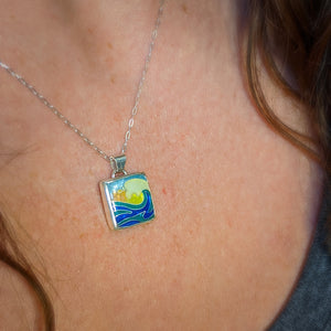 Square Wave Pendant