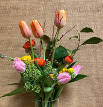 Load image into Gallery viewer, Floral Arrangements with Vase (tall)