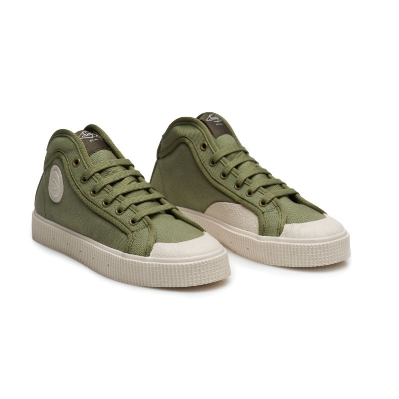 Sanjo K100 // Green-Off White