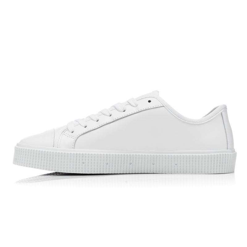 Sanjo B200 // Leather White