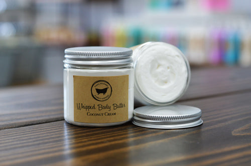 Whipped Body Butter Coconut Cream