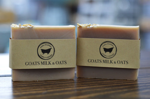 Goats Milk and Oatmeal Bar Soap