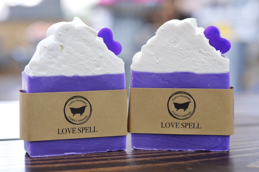 Love Spell Soap