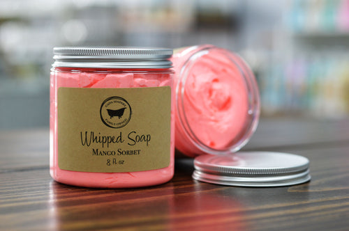 Mango Sorbet Whipped Soap