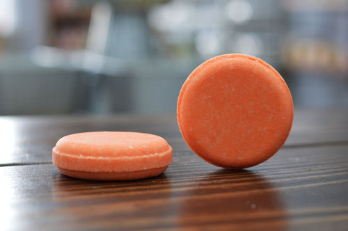 Orange Peel Shampoo Bar