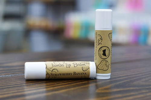 Jumbo Lip Balm Strawberry Banana