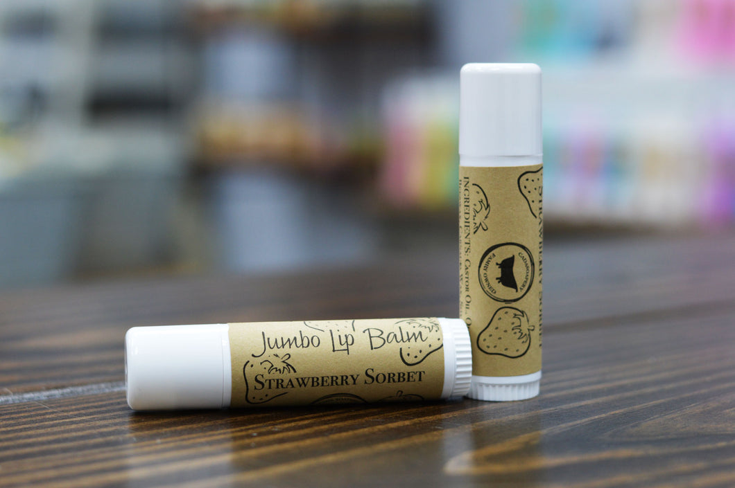 Jumbo Lip Balm Strawberry Sorbet