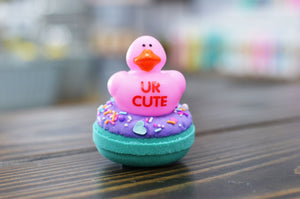 Love Spell Duck Donut Bath Bomb