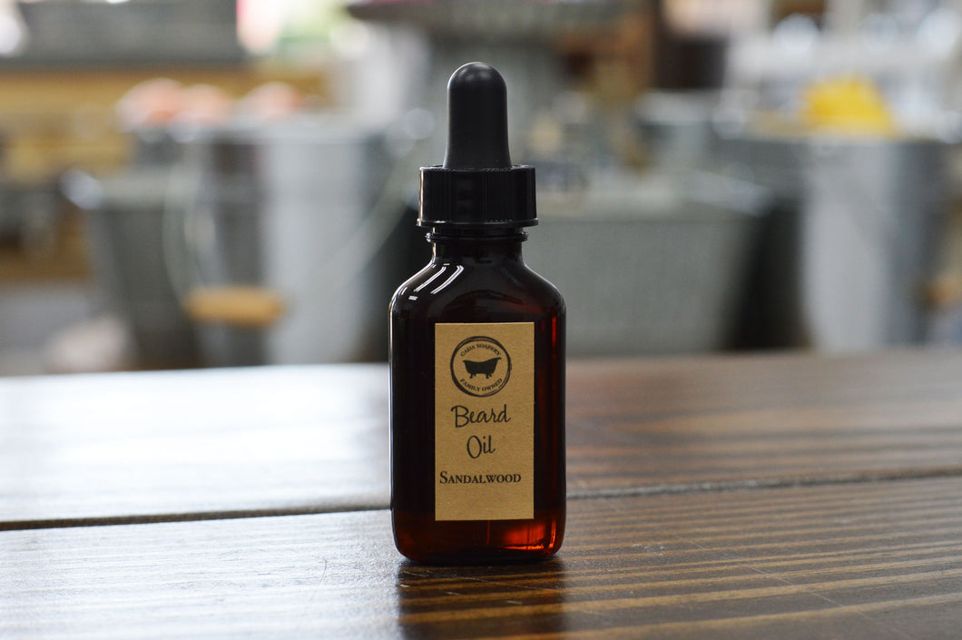 Beard Oil Sandalwood