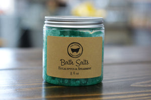 Eucalyptus & Spearmint Bath Salts