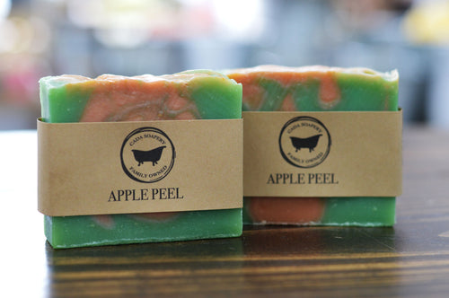 Apple Peel Soap