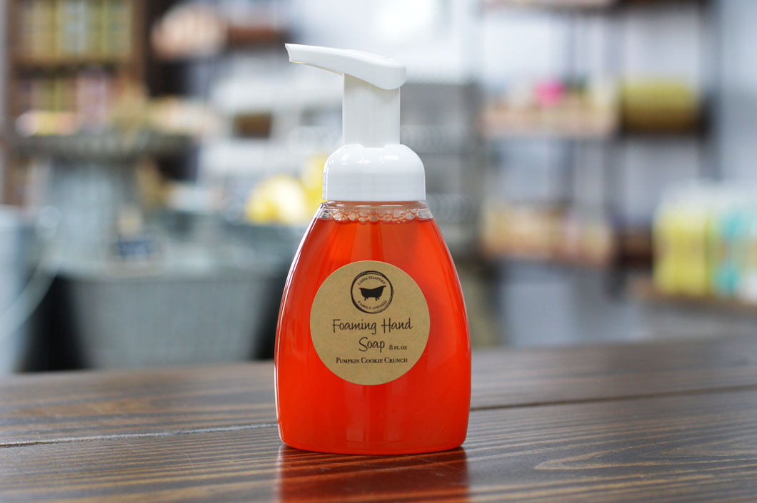 Foaming Soap Pumpkin Cookie Crunch