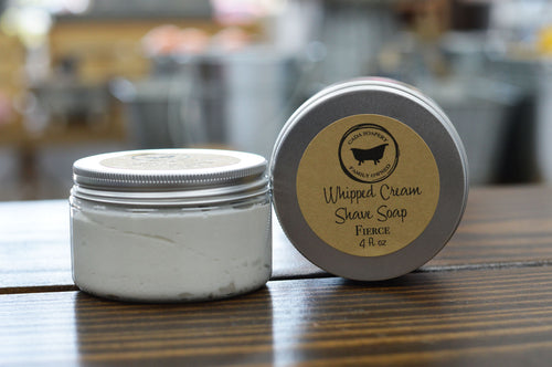 Fierce Whipped Cream Shave Soap