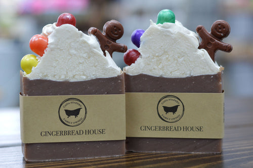 Gingerbread House Soap