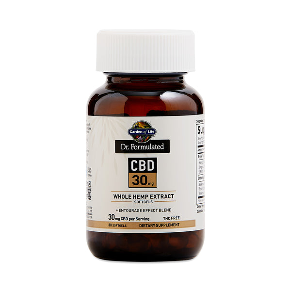Dr. Formulated CBD Softgels, 30mg