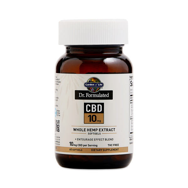 Dr. Formulated CBD Softgels, 10mg
